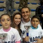 Ivan Bovara e Laura Marzocchini con Kevin e Alba