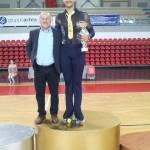 Alessandro Fratalocchi - Campione Regionale specialità esercizi liberi