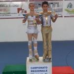Alba Marconi e Kevin Bovara - Campioni Regionali Uisp 2015