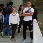 Gli allenatori Ivan Bovara e Laura Marzocchini