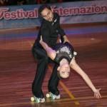 Alessandro Fratalocchi - Gaia Callisti al 14° Festival del Pattinaggio