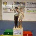 1° class. Campionati Provinciali Fihp cat Allievi Regionali Coppie Artistico