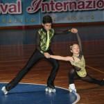 Kevin-Bovara-e-Matilde-Matteucci al 14° Festival del Pattinaggio