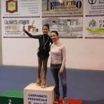 Samuela Collini - 1° classificata - premiata dalla Pluri Campionessa Mondiale Laura Marzocchini