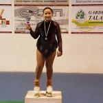 Sofia Fares - 1° classificata negli esercizi obbligatori