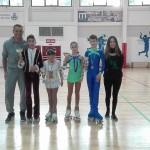 Ivan e Laura con i Campioni Regionali di coppia