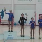 Samuela Collini Terza classificata negli esercizi liberi