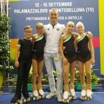 ivan-bovara-con-i-4-atleti-della-diavoli-verde-rosa